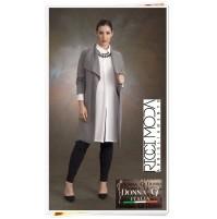 18 giaccone donna 130 over jaket woman mujer chaqueta kurtka zhens 1501300001
