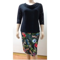 19 donna gonna oversize skirt yubka rock jupe falda longuette 1900860032