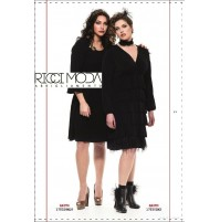 21 Kejra' Over donna 33 abito knitting woman tricoter femme  2100330096