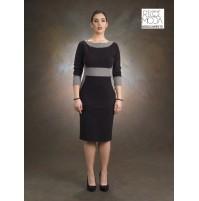 21 donna 130  vestito knitting woman dzhersi tricoter femme malla 2101300001