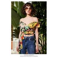 Denny Rose outlet -50% 912DD40010 blusa Summer Estate 2019 disponibile