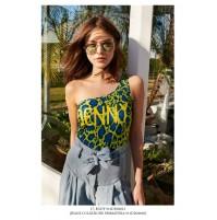 Denny Rose outlet -50% 912DD60021 t-shirt maglia Summer Estate 2019 disponibile