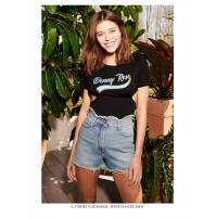 Denny Rose outlet -50% 912DD60028 t-shirt maglia Summer Estate 2019 disponibile