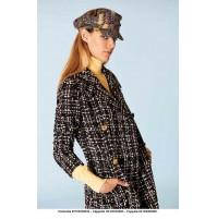 Denny Rose outlet -50% 921DD30003 cappotto Autunno Inverno 2019 disponibile