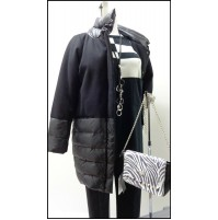 Outlet 16 donna cappotto coat woman mujer capa pal'to zhenshchina 1601060001