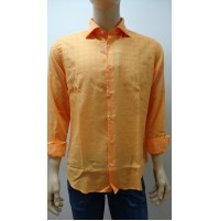 Outlet -50% 32 camicia uomo chemise camisa shirt   100% COTONE  3300640002