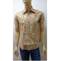 Outlet -50% 32 camicia uomo chemise camisa shirt  100% COTONE   3300640019