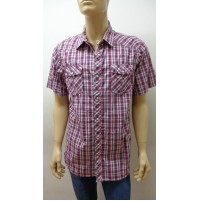 Outlet - 50%  32 camicia uomo chemise camisa shirt 100% cotone 3300800037