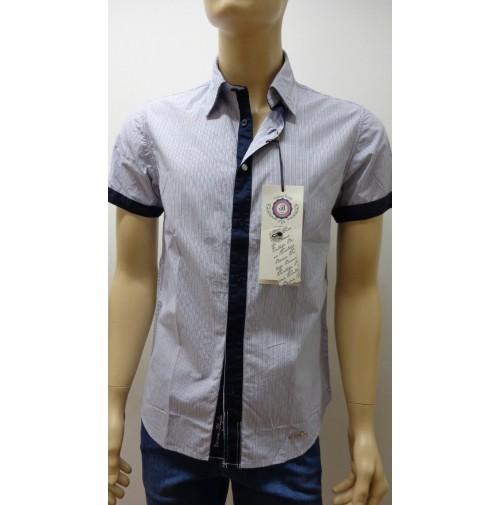 Outlet - 50%  32 camicia uomo chemise camisa shirt 100% cotone slim  3300640024