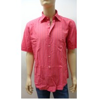 Outlet -50% 32 camicia uomo chemise camisa shirt  cotone 3300640008