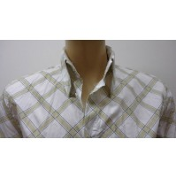 Outlet -50% 32 camicia uomo chemise camisa shirt  cotone   3300810012