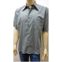 Outlet -50% 32 camicia uomo chemise camisa shirt misto cotone  3300010019