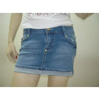 Outlet Saldi Sottocosto gonna longuette skirt falda rock jupe jeans 4100400003