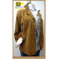 Outlet  donna capi in pelle giaccha jacketa woman chaqueta mujer  1200440018
