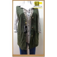 Outlet  donna capi in pelle giaccha jacketa woman chaqueta mujer ve  1200010015