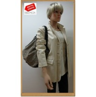 Outlet  donna capi in pelle giaccha jacketa woman chaqueta mujer  ves 1200010024