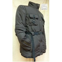 Outlet  donna piumino giacca giaccone parka  piumino husky caban 1800860001