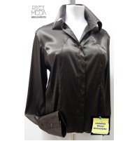 outlet -50% camicia donna taglie forti 34 blouse chemisier bluse 3400700049
